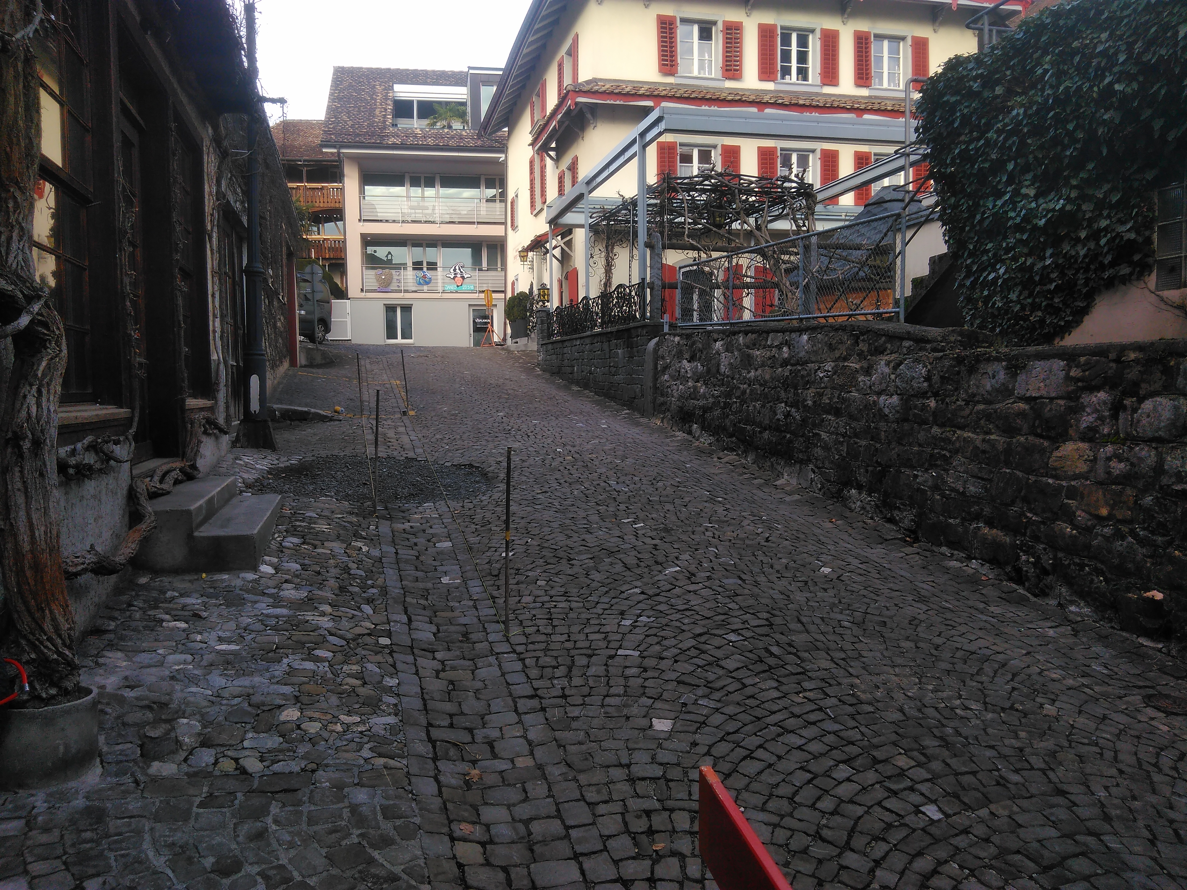 Gassensanierung Schwyz 1